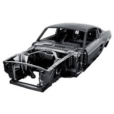 1967 Ford Mustang Black Dynacorn 67fb Mustang Complete Body Shell Fastback 1967