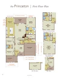 princeton home plan by gehan homes in waters edge floor plan