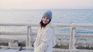 russian beaches in winter she went swimming russia day 15