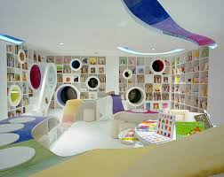 Kids Living Room Home Design Modern Contemporary Kids Play Room And Study Room