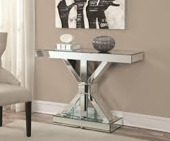 furniture elegant mirrored accent table for home furniture ideas