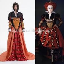 Red Queen Halloween Costume Tim Burton U0027s Red Queen Dress Alice Wonderland Costume Buy