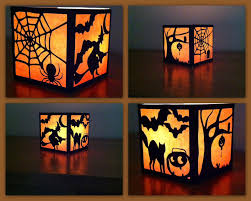 Halloween Tin Can Crafts The Lady Wolf Four Sided Halloween Lantern Svg Svg Pinterest