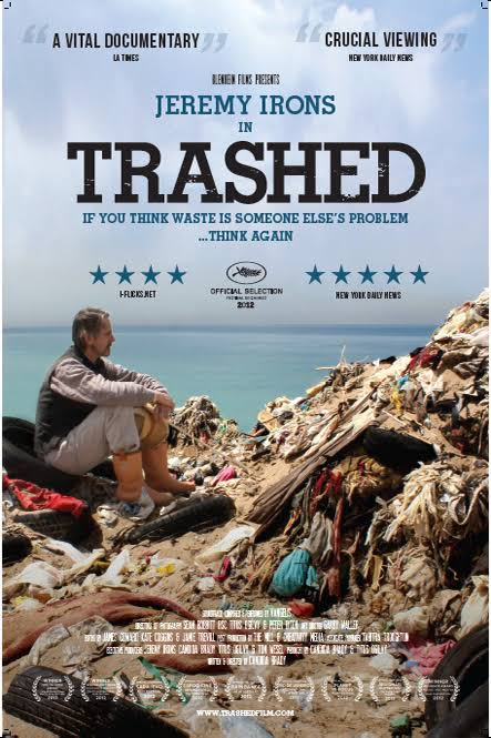 Trashed DVD cover
