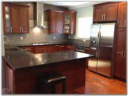 kitchen cabinet how to repair kitchen countertop tile dark