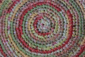 Multicolor Rug Decorating Charming Round Multicolor Braided Rugs For Floor Decor