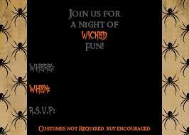 free halloween invite templates halloween invitation clipart 51