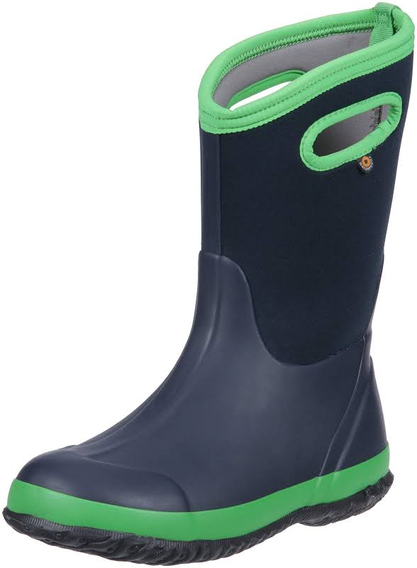 Bogs Classic Solid NAVY/GREEN Medium 11 72328-411-M-11