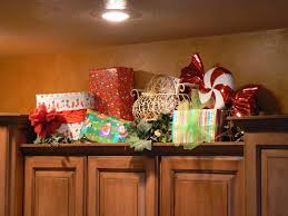 Top Of Kitchen Cabinet Decor Ideas Christmas Decorating Ideas For Above Kitchen Cabinets Room