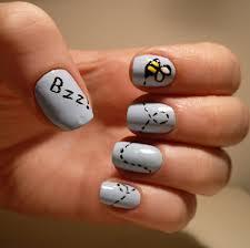 bumble bee nail art nails pinterest bumble bee nails