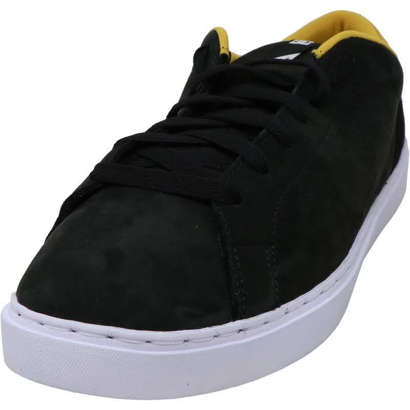 DC Reprieve SE Suede Low Top Skate Shoes Black 11 Medium (D)
