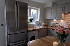 our dream howdens burford kitchen reveal somewhere after the cabinet lighting howdens