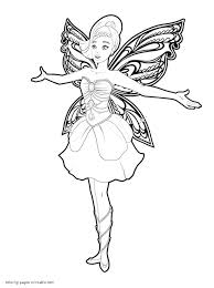 barbie fairy coloring pages barbie fairy printable coloring pages