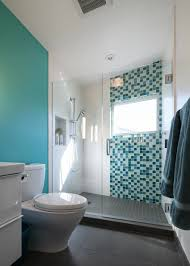blue contemporary bathroom photos hgtv with mosaic glass tile