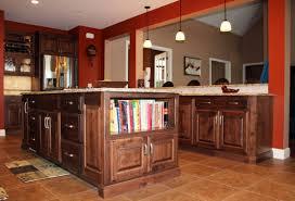 Stove In Kitchen Island Custom Designed Kitchens Portfolio Cabinets And Counters