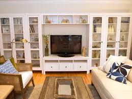 living room built in shelves hgtv