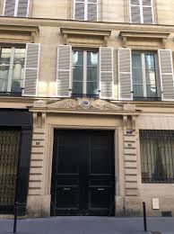 Thomas Jefferson   Ordinary Philosophy Ordinary Philosophy Former site of the Hotel d     Orleans at    rue Bonaparte  Paris