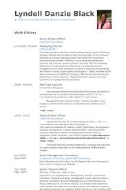 Sample Resume For Senior Manager by Project Officer Resume Samples Visualcv Resume Samples Database