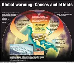 find additional information on the causes of global warming and what the effects of this process could be