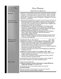 Medical Office Assistant Resume Examples by First Rate Secretary Resume Examples 1 Chronological Resume Sample
