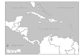 Labeled Map Of Central America by Spanish Speaking Countries And Their Capitals South America And