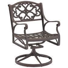 Mesh Patio Chair Amazon Com Home Style 5554 53 Biscayne Swivel Outdoor Arm Chair