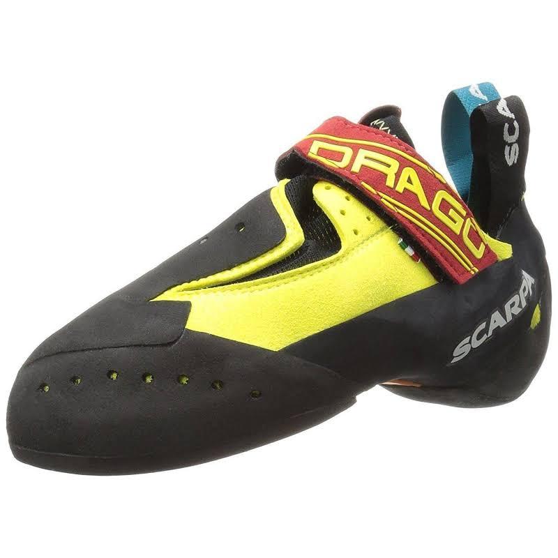 Scarpa Drago Climbing Shoes Yellow Medium 40.5 70017/000-Yel-40.5