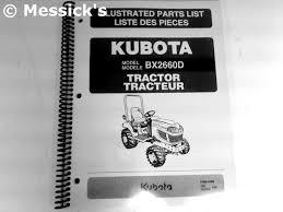 kubota bx2660 parts
