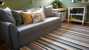 space saving ideas with a sofa bed u2013 ikea home tour youtube
