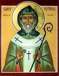 aujourd'hui c'est la saint Patrick dans mythes et légendes