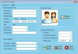 payroll System using vb net        Vb net System Downloads Vb net System Downloads   WordPress com AddNewEmployee SalaryWagesDeductions