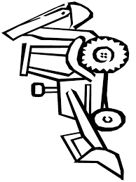 coloring pages of tools pictures of diggers coloring home
