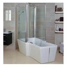 phoenix poseidon free standing bath with shower u0026 whirlpool