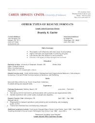 Resume With Volunteer Work Sample Resume With Work Experience