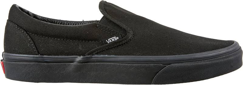 Vans Classic Slip-On (Black/Black) Skate Shoes-9