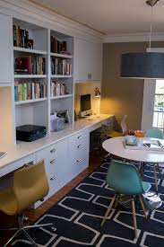 The Domestic Curator DoubleDuty Home Office Space - Family room office