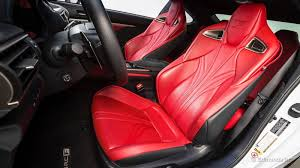 lexus rc red interior 2017 lexus rc f review u0026 ratings edmunds