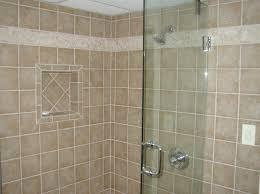 Bathroom Backsplash Ideas by Contemporary Narrow Bathroom Ideas With Brown Tile Backsplash And