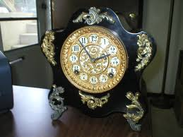 Ansonia Mantel Clock Metal Ansonia Clock Collectors Weekly