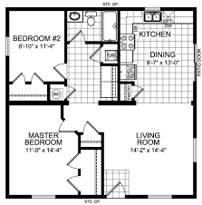 Floor Plans For One Level Homes by Guest House 30 U0027 X 25 U0027 House Plans The Tundra 920 Square Feet