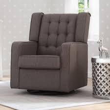Wingback Rocking Chair Furnitures Fill Your Home With Cozy Glider Rocker For Charming