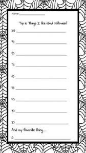 Halloween worksheet fill in adjectives   Halloween worksheets and more   what a great site for Halloween with free downloads  Pinterest