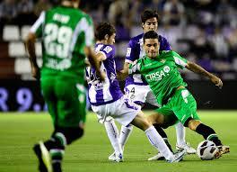 Victor Perez and Jorge Molina - Real Valladolid CF v Real Betis Balompie - La Liga - Victor+Perez+Jorge+Molina+Real+Valladolid+sbhtQiOPR7ul