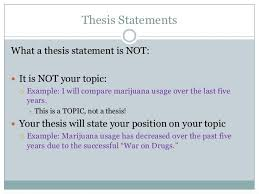 Thesis Statement Middle School Examples   strong thesis