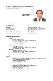 Good Customer Service Skills Resume Resume Sample Philippines Simple Augustais