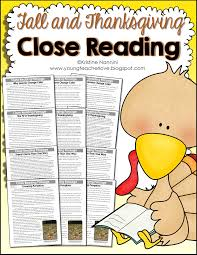 thanksgiving worksheets second grade fall and thanksgiving close reading passages text dependent