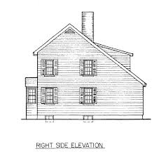 small saltbox home plans