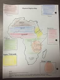 Physical Map Africa by Week Of December 7th U2013 11th Maps Of Africa Mrs Molloy U0027s 7th