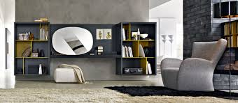 Modern Contemporary Bookshelves by Home Interior Inspirations From Molteni