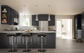 roosevelt black pre assembled kitchen cabinet the rta store